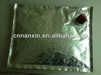 aluminum bag in box food packaging with valve