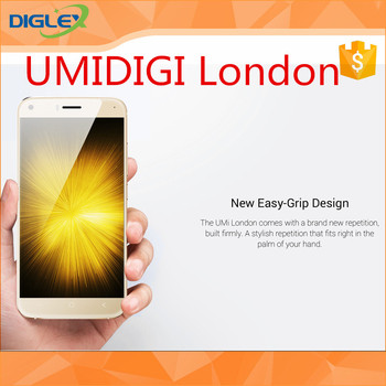 Newest Model !! UMIDIGI LONDON smartphone 5 inch Gold / Black / White 1280x720 good quality phone