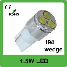 2015 hotsale led car lamp t101.5w high power 12v auto led light