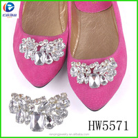 HW5571 Moveable Clip With Metal & Rhinestone For Shoes