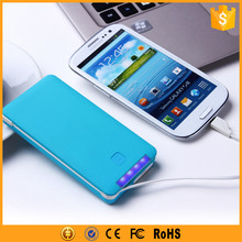 Alibaba Promotion 5000mAh Mobile ABS Power Bank Slim