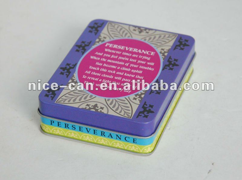 Metal Material Gift Craft Use Tin