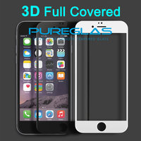 China Supply Best Price 3D Curved Full Cover Tempered Glass Screen Protector For Iphone 6