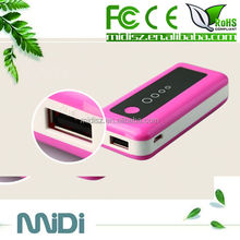 mobile power bank 5600mah for smartphone
