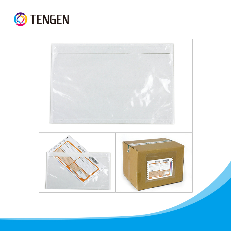 Document enclosed packing list envelope