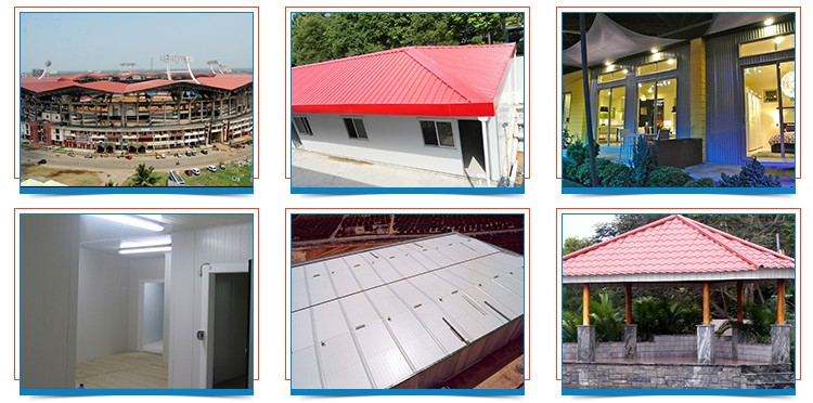 corrugated aluminium metal roofing sheet