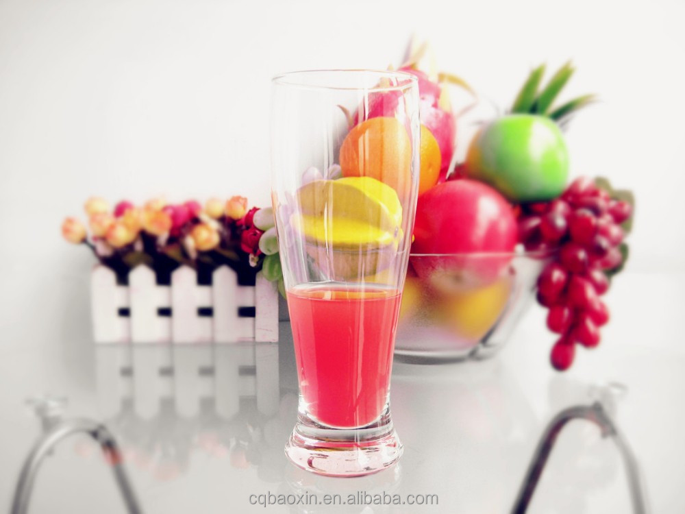Unique design fancy food grade drink glass type glass beverageware 480ml/16oz(glass factory had passed FDA/EU/SGS)