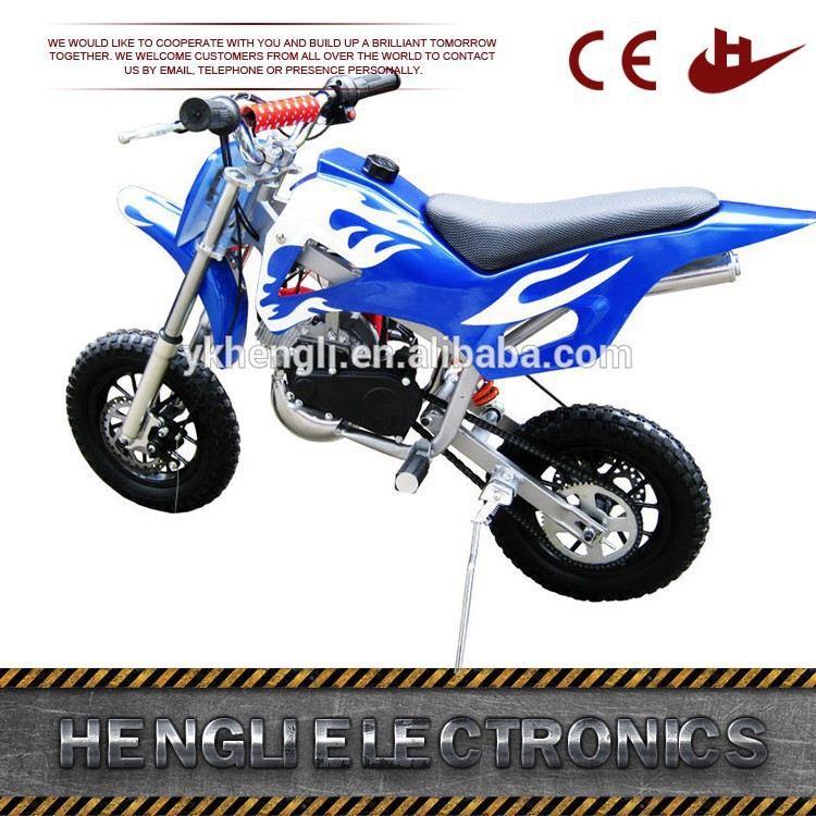 Hot selling gas-powered mini dirt bike for sale