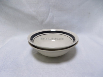 Cheap dinner ceramic soup rice bowl indian serving bowls
