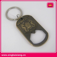 High quality custom bottle opener key chain with your own logo