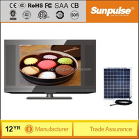 19 inch led tv solar powered 12v dc led tv with hd mini usb media playback made in china