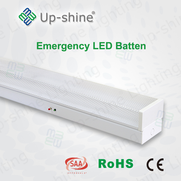 Emergency Microwave Sensor Function 5ft Beam angle 120 50W led batten light