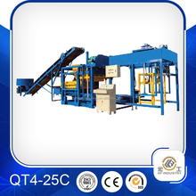 QT4-25C block making production line block machine factory directly selling