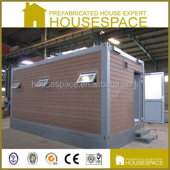 EPS Neopor Fireproof Green Mobile Demountable Toilet Container House