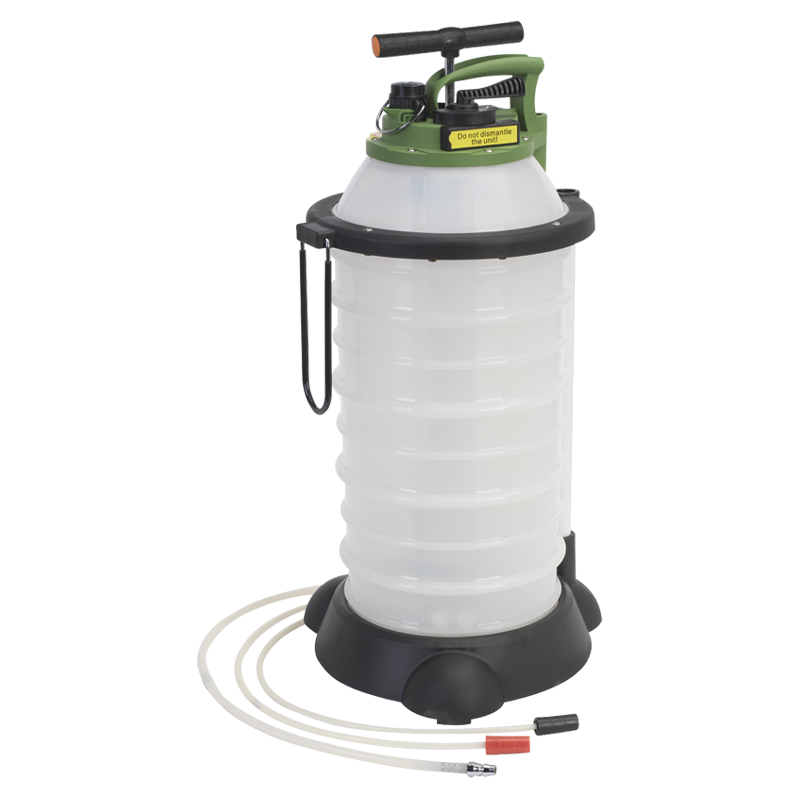 Vacuum Oil & Fluid Extractor & Discharge 18ltr