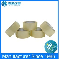 Top Rank Manufactuer Strong Adhesion super clear bopp stationery tapestationery acrylic adhesive bopp tape with first h