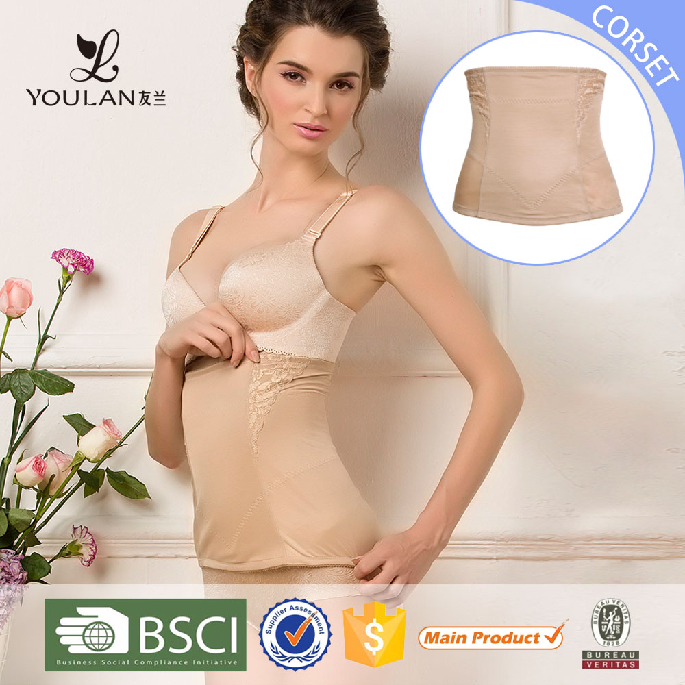 China Shapers Wholesale Manufacturer Nylon Body Suit Young Girls Corset