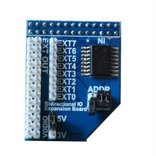 Banana pi I2C GPIO extend board can use on raspberry pi