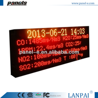 (LANPAI) P10/P16 large animated scroll message outdoor led marquee signs