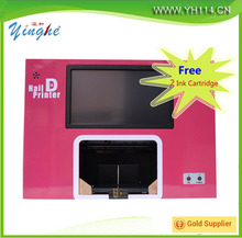 Auto digital photo nail art printer