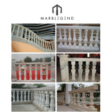 high quality natural stone driveway pillars