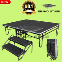 Bravo Stage Used Church Equipment Portable Wedding Stage Decoration Outdoor Concert Stage Sale