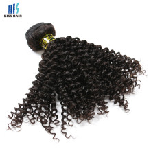 New 100% Virgin Human Hair Weft Jerry Curl Remy Virgin Indian Long Hair Braid