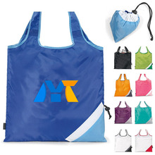 Cheap printing shopping polyester drawstring bag