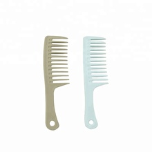 Free Sample Wholesale Two Colors Big Plastic Hair Comb