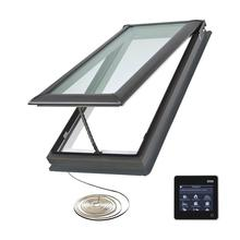 Factory strong glass top grade aluminium window frames of skylight window/roof window/remote control