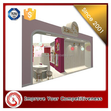 Fashion style display clothing retail garment shop interior design