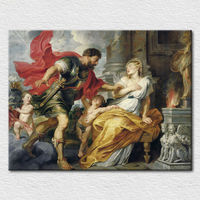 Canvas printed the famous art picture classical angels paintings
