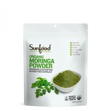 Factory Price Food Grade Material Cone Shaped Moringa Powder Plastic Bag