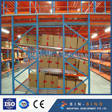 Mezzanine Steel Platform floor Racking System with Stairs