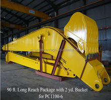 Excavator Long Reach Height Reach Pictures Examples