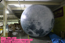 Hot sale inflatable moon , inflatable moon planets for decoration C-111