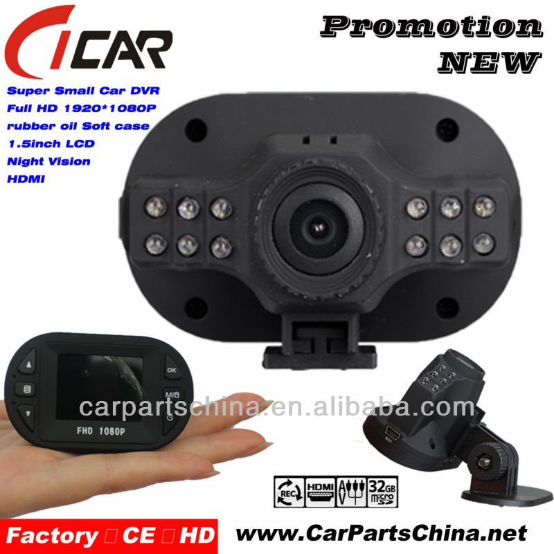 night vision Gsensor Hidden Camera 1080p hdmi full toyota dash kit