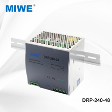 High quality universal power supply 48v din rail adjustable DRP 240w 48v