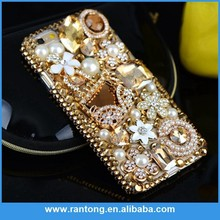 Factory Popular attractive style rhinestone fashion 3d cell phone case wholesale price