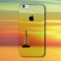 Custom Print Mobile Case, UV 3D Sailboat image printed Back cover for iPhone 6