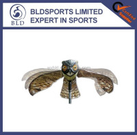 2015 Hot Sale PE plastic life-like flying prowler plastic owl toy