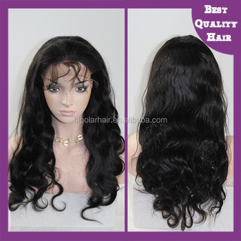 Wholesale high quality curly brazilian human hair full lace wigs