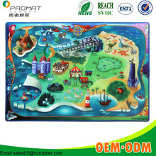 the little mermaid chrildren's room playing pad rubber no-toxic mat