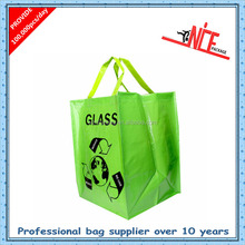 Non Woven fabric Shopping Bag made of recycled material from assurance supplier