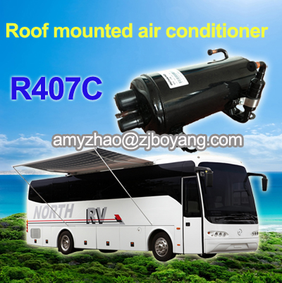 roof mounted air-conditioner compressor for rv caravan camping car camping trailers aircondition