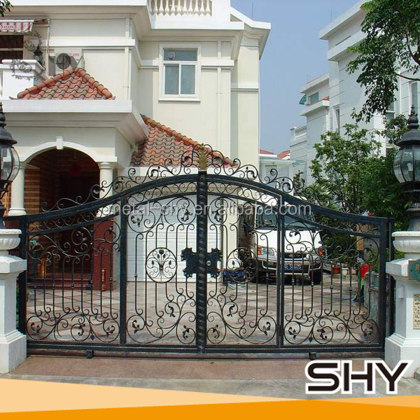Modern Simple Wrought Iron Main Gate Designs   Buy Modern Gate Designs,Main Gate  Designs,New Design Iron Gate Product On Alibaba.com Part 69