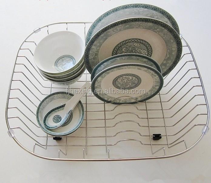 Keuken Rek Rvs : Rvs spoelbak korf, draadmand, metalen keuken spoelbak mand-spoelbakken