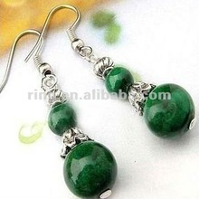 2012 NEW Tibetan Style Tibet Malachite Beads Earrings