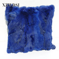 CX-D-17T Hot Sale Car Sofa Neck Rest Designer Fur Throw Pillow