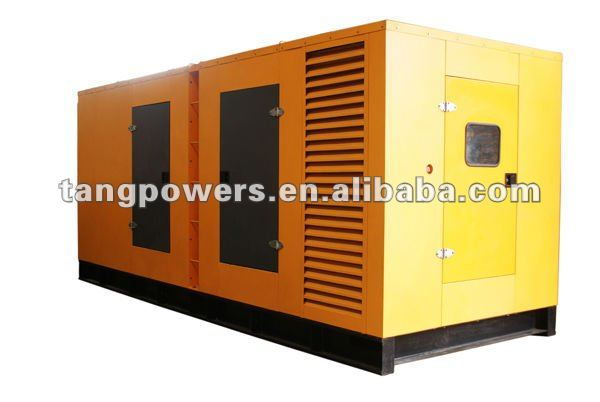 good performance! Shangchai soundproof diesel generator set